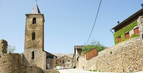 Iglesia de Llessui, Lleida, España