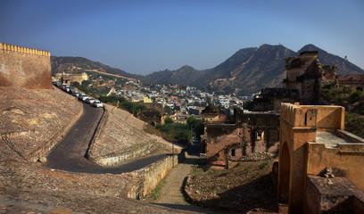 Old City  Amer Fort