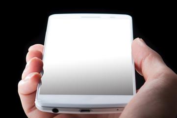 スマートフォン,黒背景素材