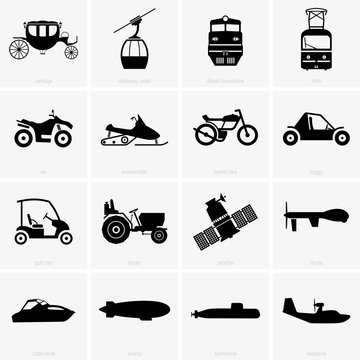 Vehicles and transports