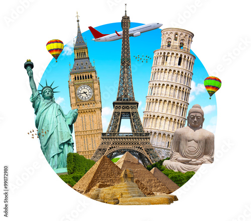 famous world monument pack - photo #9