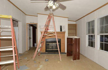Interior Remodel of a Mobile Home