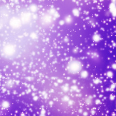 Violet Abstract background with glitter bokeh lights. Image is b
