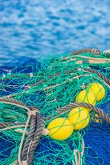 Fischfang Fischernetz