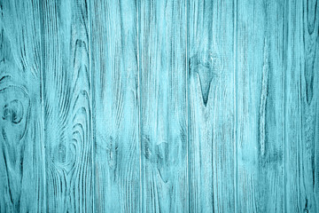 Old light blue wooden background