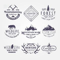 Set of premium vector labels part 2