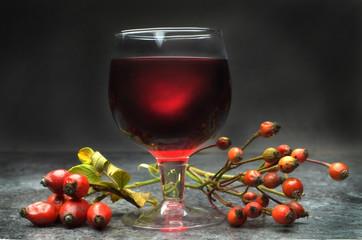 rose hip liqueur