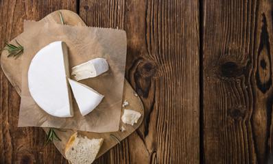 Sliced Camembert