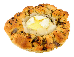 Camembert Cheese And Herb Bread