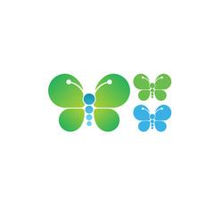 Butterfly logotype design