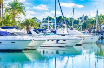 Yachthafen Boote Yachten Segelboote Luxus