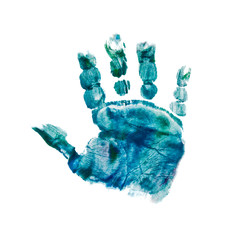 babys handprint