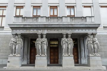 Vienna - Portal of Parliament