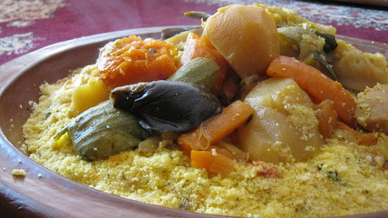 Morocco Couscous dish