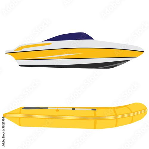 желтая лодка фламп
