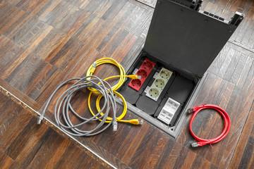 Netzwerk Kabel Anschluss