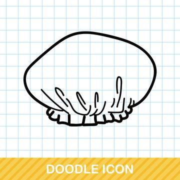 Shower cap doodle