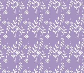 spring lavender seamless pattern