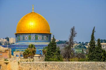 The golden mosque, Jerusalem
