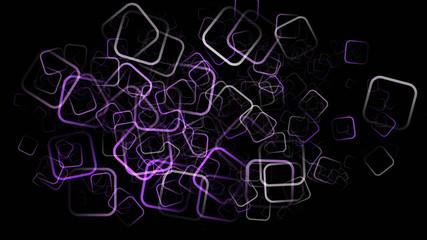 romantic abstract square background design illustration