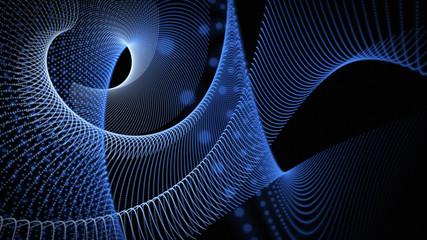 fantastic powerful particle background design illustration