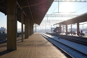 Aluminium Prints Train Station Train Station