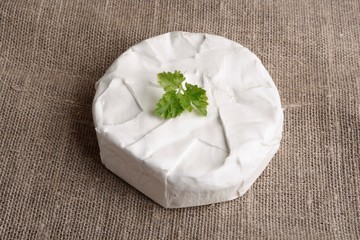 Camembert cheese brie