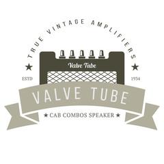 Vintage Amplifier Badge