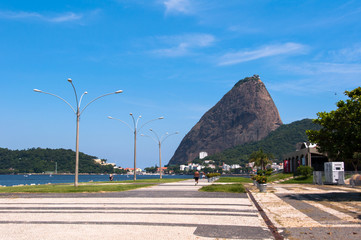 Sugarloaf Mountain View from Flamengo