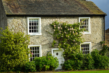 Beautiful English house with climbing roses