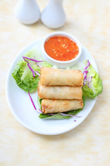 Deep fried spring roll