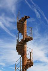 Staircase into sky