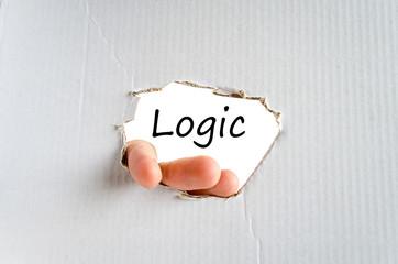 Logic text concept