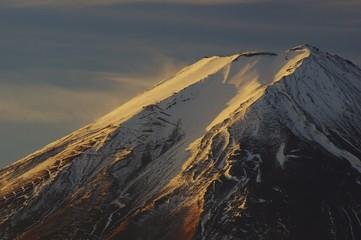 Mt.Fuji, at dawn 富士山の夜明け