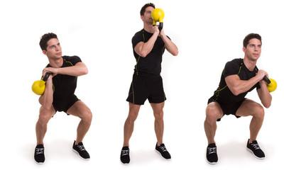 Kettlebell, Sqaud Flip, exercices