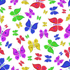 pattern of butterfly