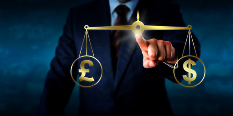 Trading The Pound Sterling At Par With The Dollar