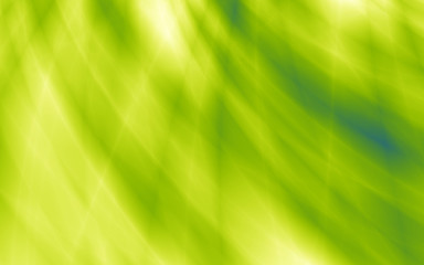 Bright green abstract flow power web background
