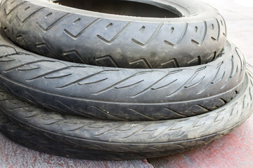motorcycle tires, Rubber tire, spare wheel