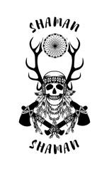 Indian shaman totem