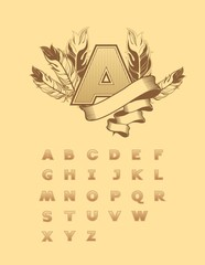 set of alphabet letters