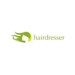 Green Hairdresser Logo