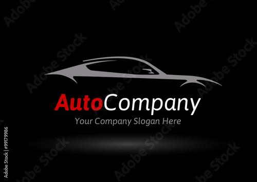 Original Auto Vehicle Vector Logo Design Of A Fast Conceptual