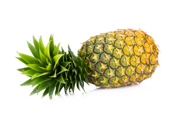 pineapple isolated on white backgound
