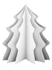 Christmas tree - white