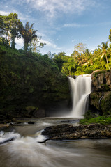 Tegenungan Waterfall close to Ubud on the Island Bali.