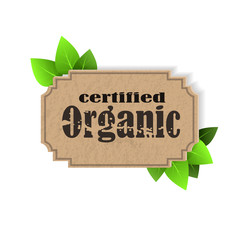 Eco Friendly tag Organic