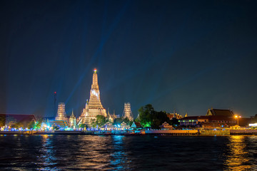 wat arun, landmark temple in Bnagkok also call temple of dawn