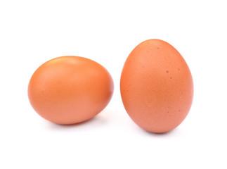 Two fresh eggs