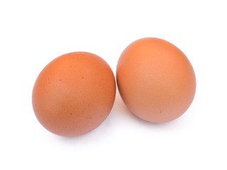 two whole eggs